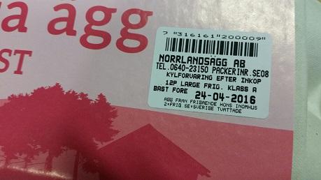 Pelle&Lisa / Norrlandsägg - Datum