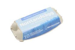 Pelle&Lisa / Norrlandsägg - Frigående 10-pack