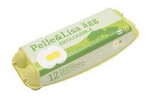 Pelle&Lisa / Norrlandsägg - Ekologiska ägg 12-pack