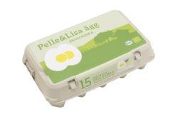 Pelle&Lisa / Norrlandsägg - Ekologiska ägg 15-pack