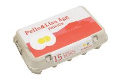 Pelle&Lisa / Norrlandsägg - 15-pack Primörägg