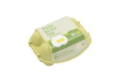 Pelle&Lisa / Norrlandsägg - Ekologiska ägg 6-pack