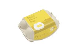 Pelle&Lisa / Norrlandsägg - 6-pack Inredd bur