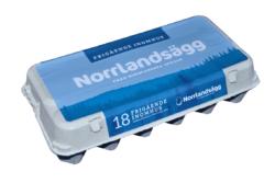 Norrlandsägg 18-pack
