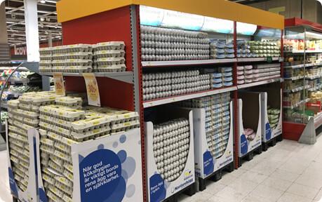 Pelle & Lisa - Ägg i butik