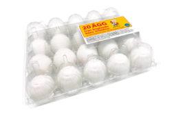 Yttertavle 20-pack ägg