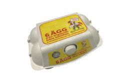 Yttertavle 6-pack ägg